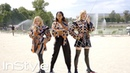 Louis Vuitton's Charlie's Angels Chloe Grace Moretz Sophie Turner and Laura Harrier InStyle