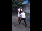 Catfight between two girls