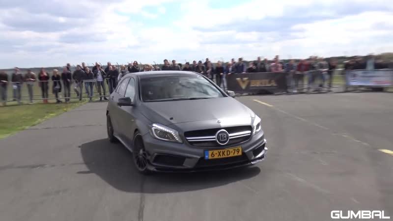 BRABUS Mercedes-Benz A45 AMG - DRAG RACE