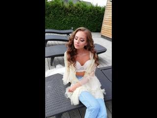 Мой мэйк Красавице Невесте💎 Локоны от @yulia_galayda 🌷