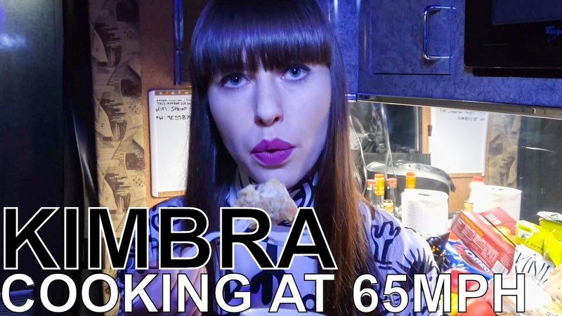 Kimbra Makes Bread Butter Pudding - COOKING AT 65MPH Ep. 31