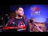Интервью с Дастаном dastan Акбаевым GG.Bet Majestic LAN Finals