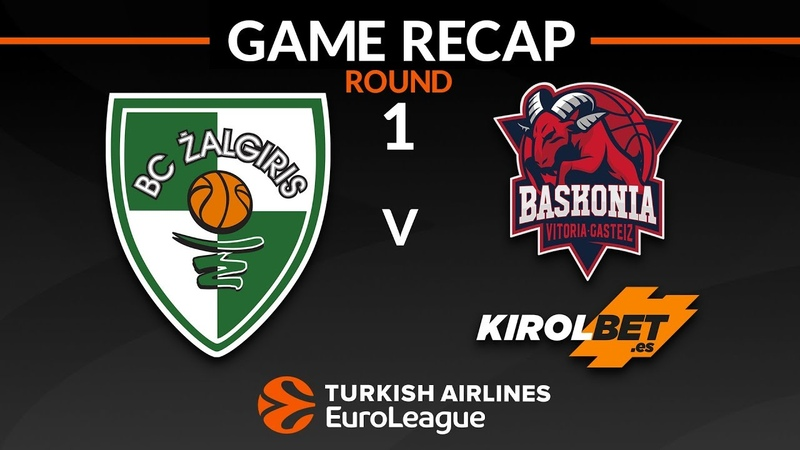 Highlights: Zalgiris Kaunas - KIROLBET Baskonia Vitoria-Gasteiz