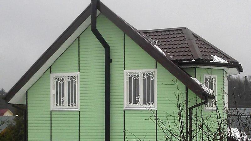 Обзор каркасного дома 107 кв. метров | КанадскийДом.рус