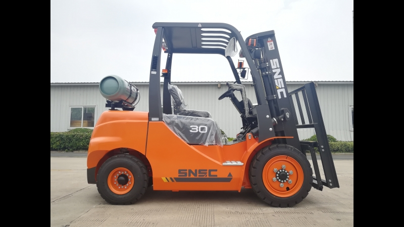 SNSC 3ton LPG forklift to Chile