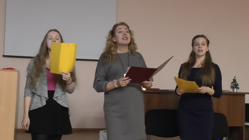 It's the most wonderful time of the year by N.V.Krylova, D. Shurkatchova and A.Salii (Group 151)