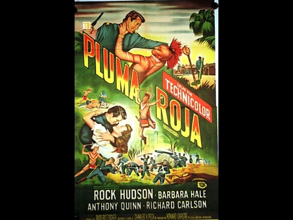 Pluma Roja / Rock Hudson / Western