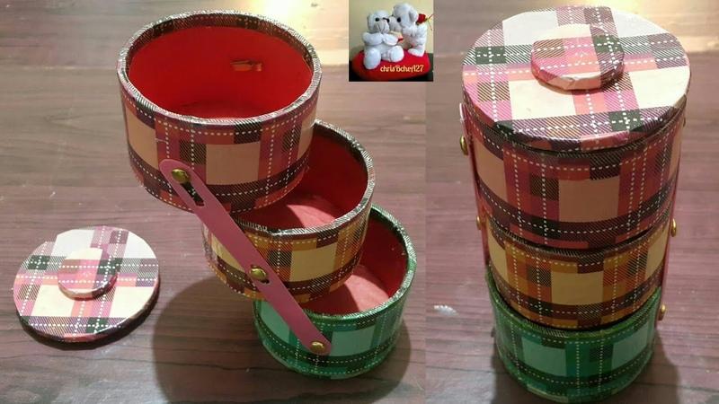 DIY Multi-Purpose Organizer Using Recycled Tape Rolls Style 4