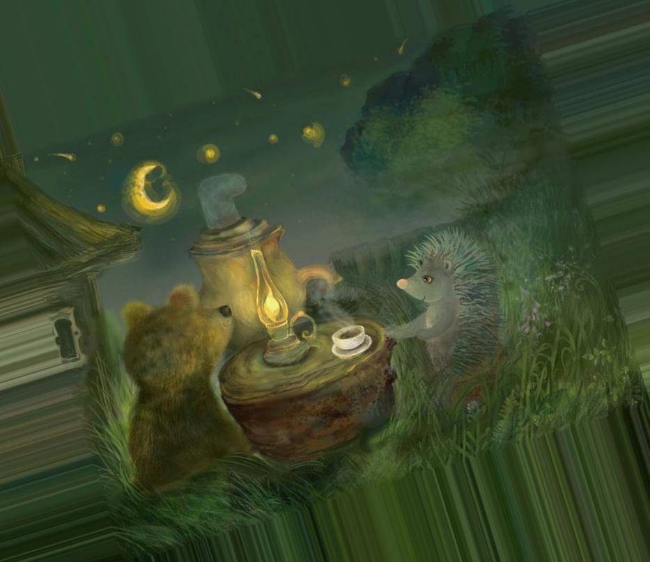 конечно, картинки чай и медведь хорошо организованной свадьбе