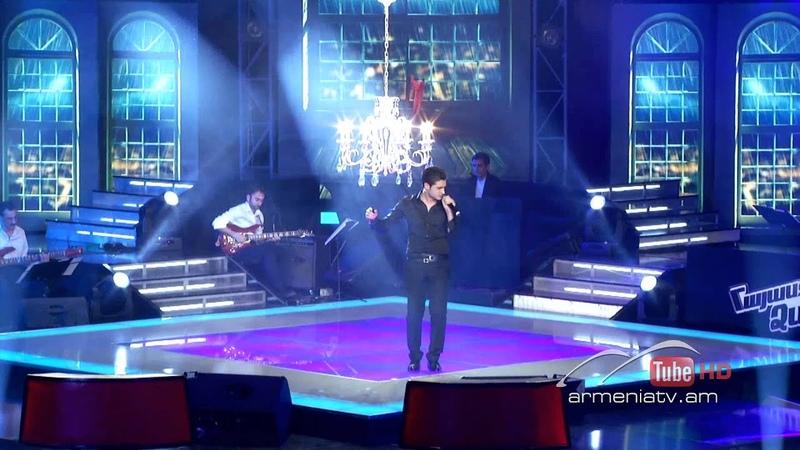 Gevorg Martirosyan Y Si Fuera Ella The Voice Of Armenia Live Show 4 Season 1