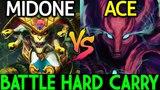 MidOne Medusa VS ACE Spectre | Epic Battle Hard Carry 7.14 Dota 2