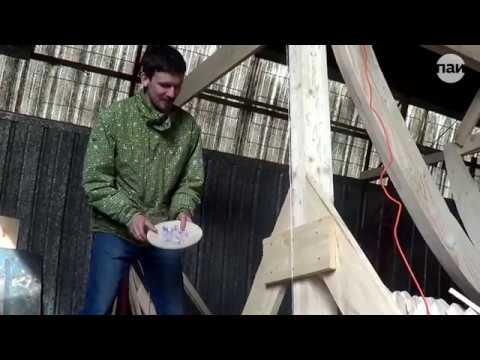 Закладка Ганзейской ладьи в Пскове