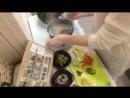 Прекрасная Екатерина готовит Собу с креветками