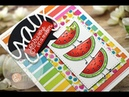 SSS Funny Food Take 5 | Watermelon Day | Copic Markers