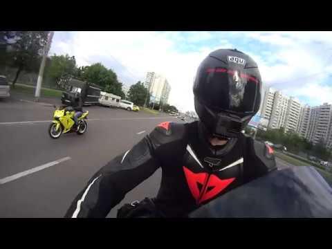 SlowMotion Wheely SKdrive Yamaha R1 Москва