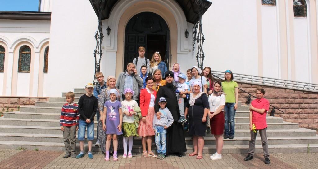 Медиа волонтёры из Хабаровска побывали в Биробиджанской епархии