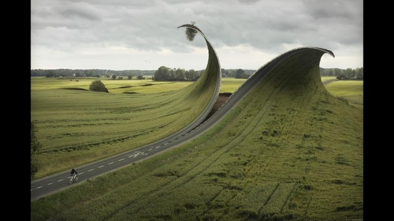 Невозможная фотография Эрика Йоханссона - процесс создания работы
