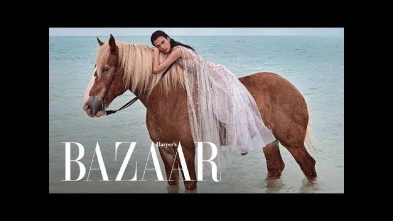 Chic Unconventional Beach Wedding Dresses Harpers BAZAAR