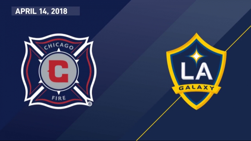 HIGHLIGHTS: Chicago Fire vs LA Galaxy | April 15, 2018
