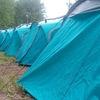 Мариинск. Палаточный лагерь