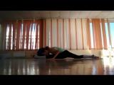 небольшой комплекс упражнений от Анны Артемкик, чтобы сесть на продольный шпагат)