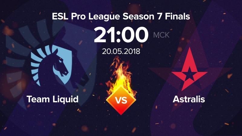 Видеопрогноз: Astralis vs. Liquid