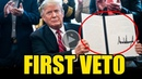 BOOMM!! DEMS NEVER EXPECTED THIS DAY COMING AFTER TRUMP ISSUED THE FIRST VETO OF HIS PRESIDENCY