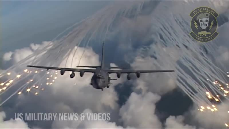 AC-130H Spectre In Action _ AC-130U Spooky In Action _ AC-130W Stinger II Gunships In Action