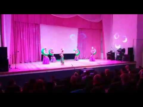 Студия восточного танца Гюльчатай Группа Стразы - Капризный цветок