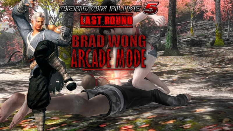 Dead or Alive 5 Last Round - Arcade Mode - Brad Wong