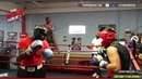 Danny Garcia In Gym Sparring Day 270 LB Novice Heavyweight vs 170 LB Amateur