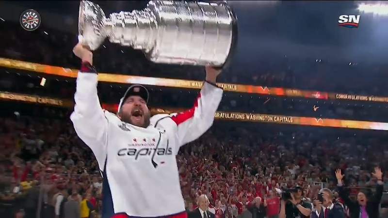 Alex Ovechkin Stanley Cup Final 2018