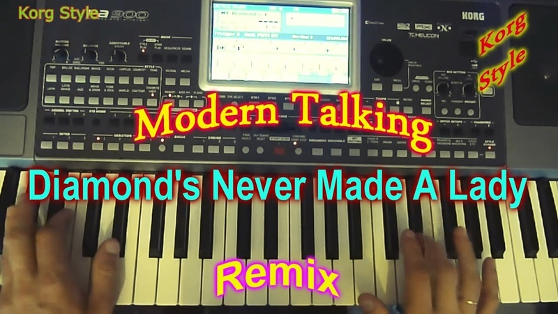 KorgStyle Modern Talking - Diamonds Never Made A Lady (Korg Pa 900) Remix