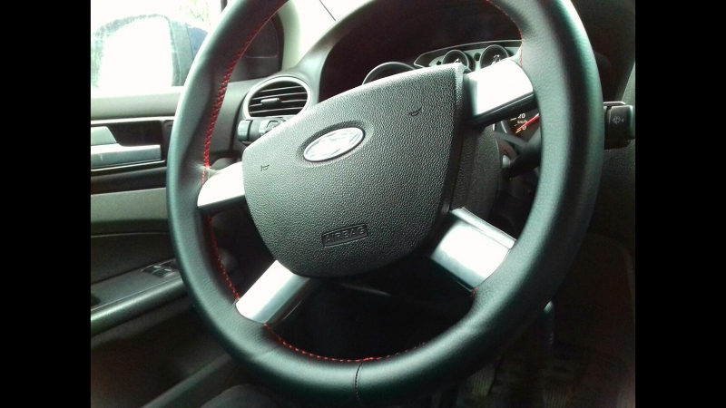 Форд Фокус 2 оплетка на руль