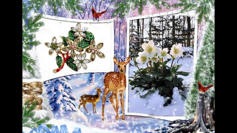 ✅💎Брошь Морозник с Алиэкспресс🌸AliExpress 🌸 Jewelry from China