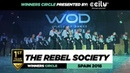 THE REBEL SOCIETY | 1st Place Team | FrontRow | World of Dance Spain Qualifier 2018 | WODSP18