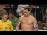 (2) Ибрагимович забил лучший гол в истории футбола !!!
