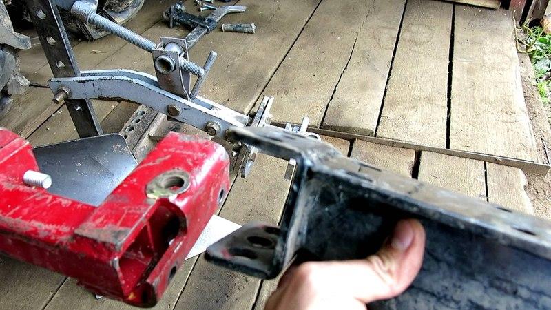 Сцепка для мотоблока своими руками, сцепка самостоятельно для мотоблока Weima 1100D
