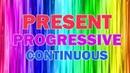 Present Progressive (Continuous) — настоящее продолженное время