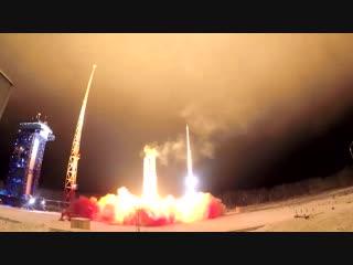 Пуск ракеты-носителя легкого класса «Рокот» с космодрома Плесецк