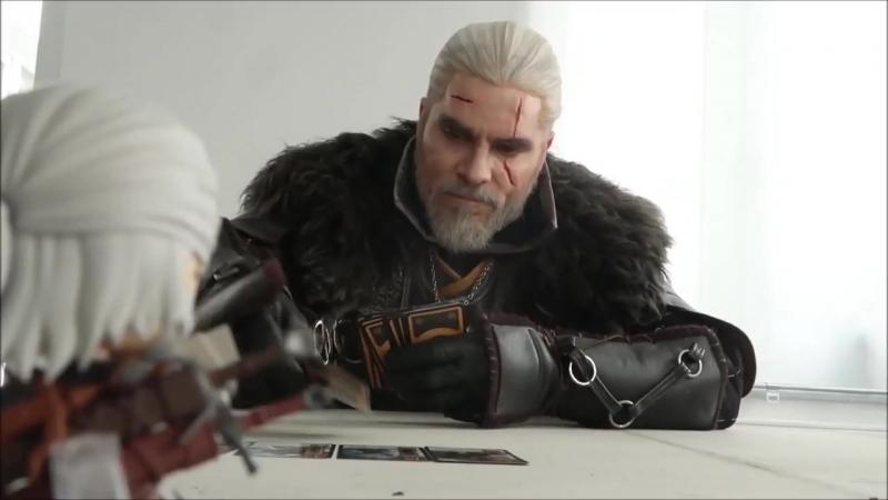 Maul Cosplay x Good Smile Company - Geralt Nendoroid Geralt