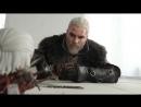 Maul Cosplay x Good Smile Company Geralt Nendoroid Geralt