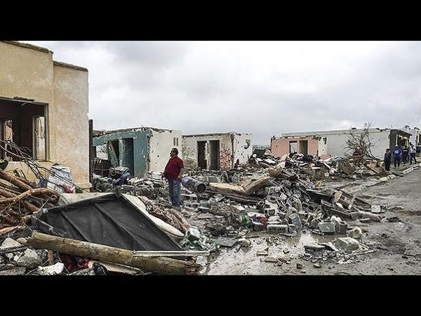 На Мексику обрушился ураган Ньютон