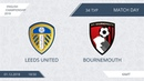 AFL18. England. Championship. Day 34. Leeds United - Bournemouth