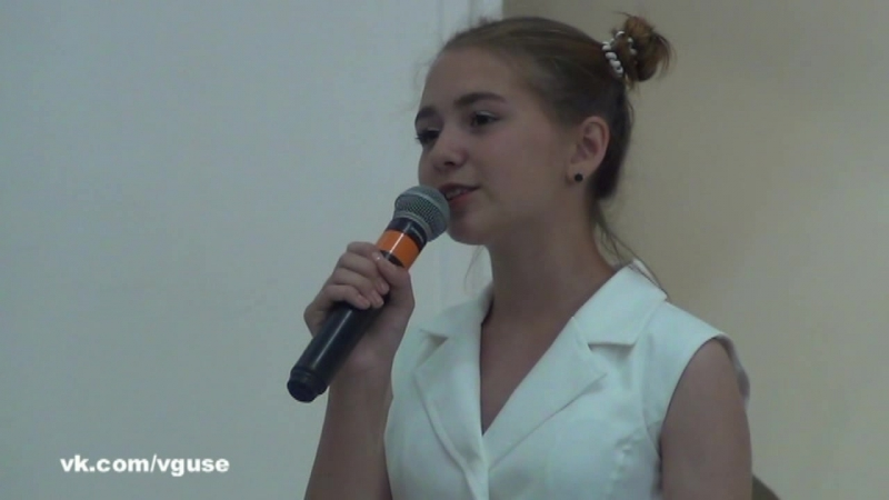 Диана Сердюк - стихи о Гусь-Хрустальном (23-06-2018 вГусе)