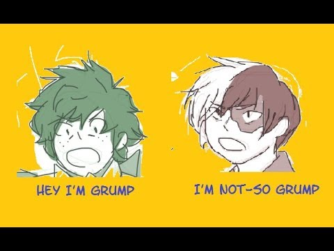Hero Grumps [BNHA Fan Comic Dub]