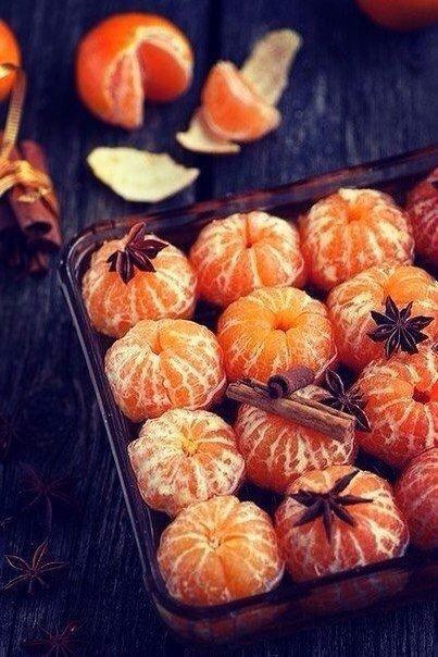 Почему мандарины символ Нового года