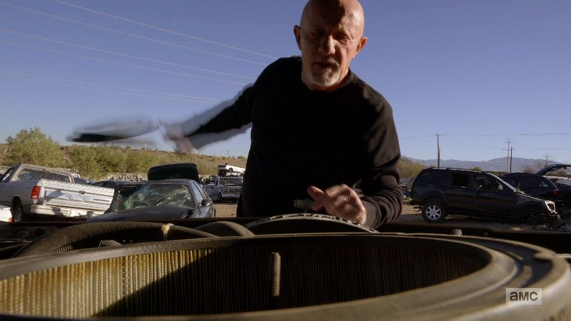 Better Call Saul - Mike's looking for the tracker