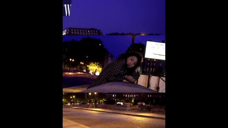 Ким Гоын для июньского выпуска журнала «W».