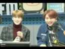 Jaehyun being sweet to johnny by removing dust from johnny's jacket (2018)
